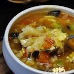 蔬菜疙瘩汤(早餐菜谱)