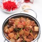 萝卜煲鸭块(荤素搭配)