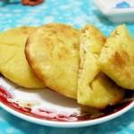 包菜鸡蛋玉米面饼(早餐菜谱)