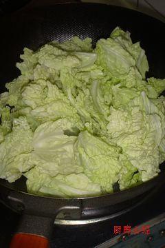 大虾白菜叶