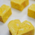 如何制做心型日式厚蛋烧(适合做便当的菜)