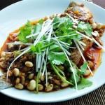 干烧鲈鱼(荤菜)