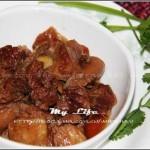 甜面酱红焖牛肉(荤菜)