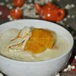 豆浆入菜好豆浆南瓜鸡片健康——豆浆南瓜鸡片(荤菜)
