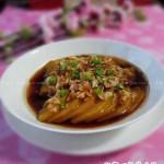 金钱香蒜虾皮蒸南瓜(清蒸菜)
