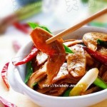豉油鸡汁素鸡翅(减肥菜谱)