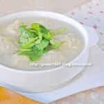 冬瓜肉丸汤(荤菜)