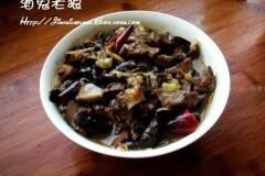 香菇牛肉卤