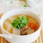蘿卜牛腩湯和魚香牛腩(葷菜)