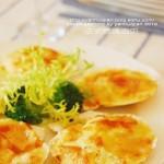 法式焗烤扇贝(西餐)