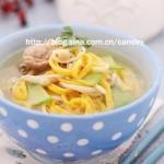 清汤胡萝卜面(早餐菜谱-手擀面的保存方法)