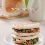 电饼铛牛肉夹馍(电饼铛早餐菜谱)