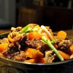 胡萝卜焖牛腩(荤素搭配)