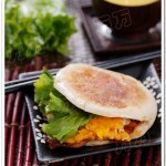 电饼铛培根煎蛋夹馍(电饼铛菜谱)