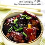 红烧猪小排(荤菜)