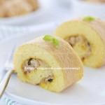 肉松海苔蛋糕卷(早餐菜谱)