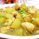 咖喱南瓜炒鸡丁(荤素搭配)