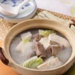 砂锅排骨(荤素搭配)
