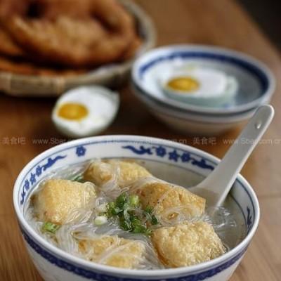 油豆腐粉丝汤