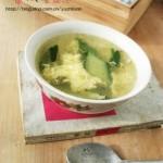 黄瓜蛋花汤(营养靓汤)