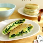 韭菜馅饼(早餐菜谱)