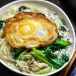 鸡蛋手擀面(早餐菜谱)