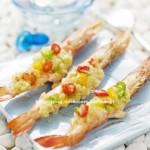 蒜蓉烤虾(简单好吃的宴客菜)