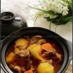 養生牛腩煲(葷菜)