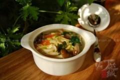 油皮蘑菇汤