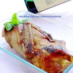 自制脆皮烤鸭(中国式的圣诞大餐)