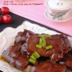 红焖猪蹄(荤菜)
