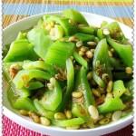 老鼠瓜焖黄豆(素菜)