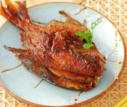 传统熏鱼的家庭简化做法