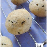 黑芝麻麻薯面包(零食)