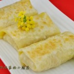 土豆丝卷饼(早餐菜谱)