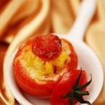 芝士臘腸番茄盅(烤箱菜)