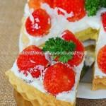 草莓杏仁塔(西点)