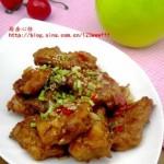 糖醋鱼排(荤菜)