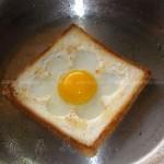 吐司煎鸡蛋(早餐菜谱)