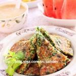芹菜叶摊饼(早餐菜谱)