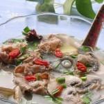 鱼羊鲜菇汤(荤素搭配-营养靓汤)