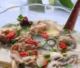 鱼羊鲜菇汤