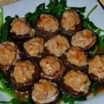 香菇釀肉(葷素搭配)
