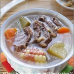 青红萝卜煲牛展(荤素搭配)