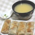 馄饨皮做春卷(早餐菜谱)