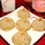 珍珠虾仁大肉丸(春节年夜菜-团团圆圆)