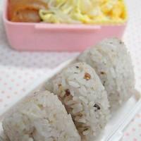 红烧猪蹄与杂米饭团便当