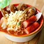 韩式海鲜泡面(早餐菜谱-韩剧里出现频率最高的美食)
