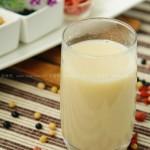 枸杞花生双豆奶(营养热饮)
