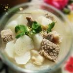 牛腩萝卜汤(荤素搭配-驱寒暖身强身汤)